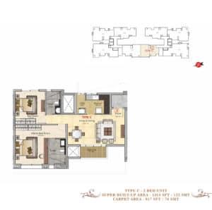 Prestige-MSR-Type-C-Floor-Plan
