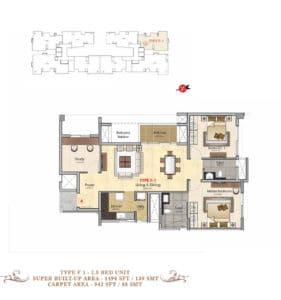 Prestige-MSR-Type-F1-Floor-Plan