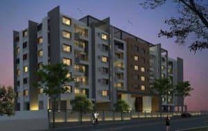 prestige msr apartment view