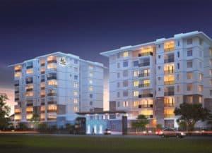 Prestige Dolce Vita Apartment Night View