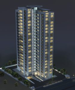 Prestige Deja Vu Apartment in Frazer Town Aerial View