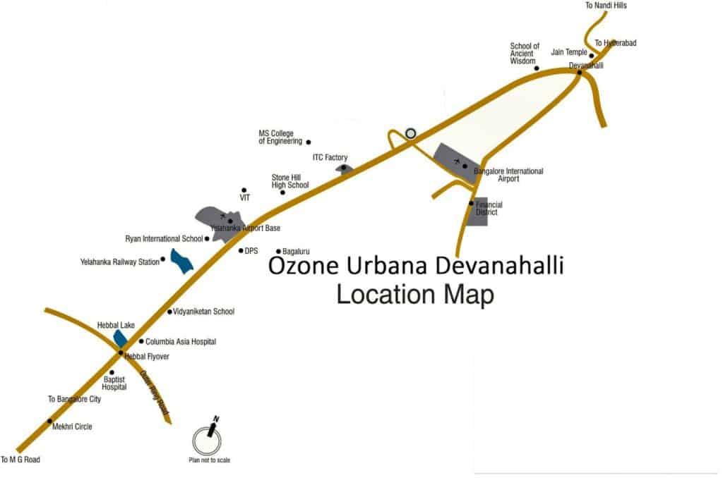 Ozone Urbana location
