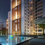 Gopalan Florenza Apartments swimming pool area