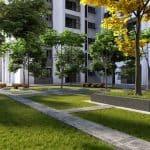 Gopalan Florenza garden area