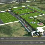 Provident Plots Electronic City bird view