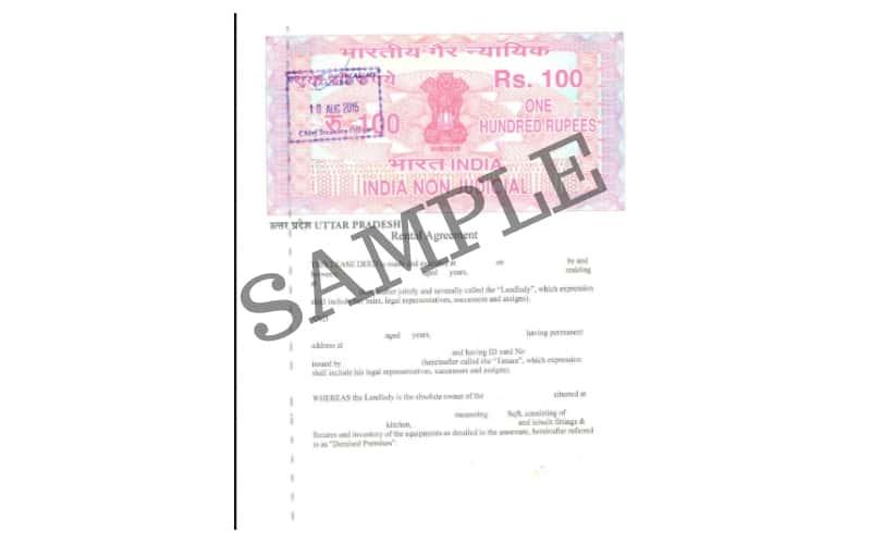 Non-Registered Rental Agreement