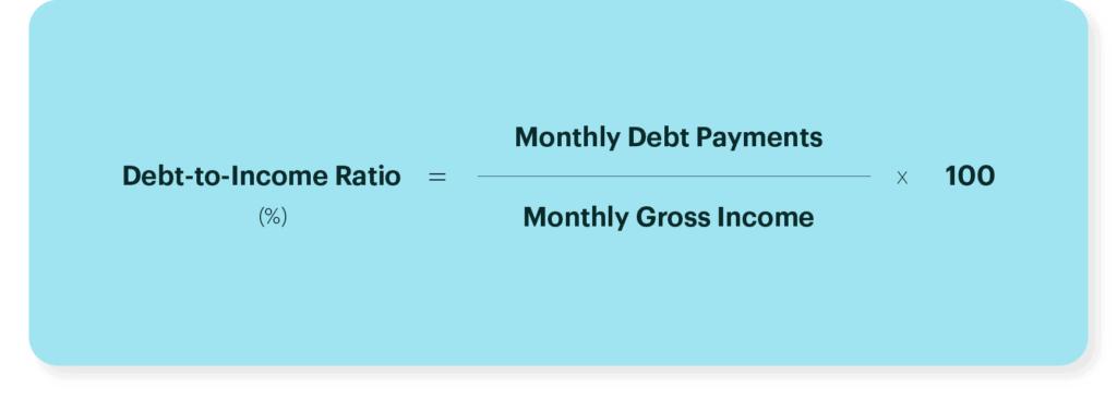 Calculate Debt Income To Ratio