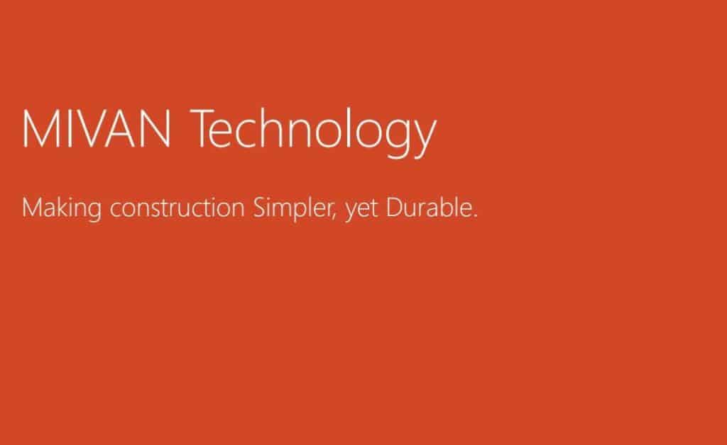 Mivan Construction Technology
