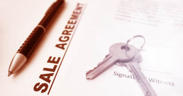 Sale Agreement During The Registration Of The Property