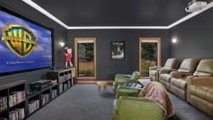 Designing Home Theater Room